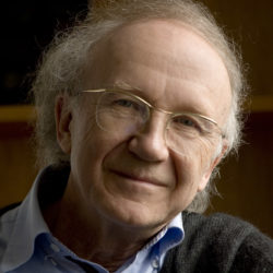 Heinz Holliger, conductor. Photo by Priska Ketterer.