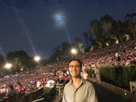 Ken-David Masur at Hollywood Bowl